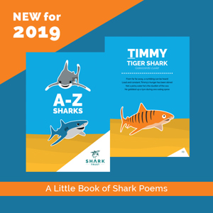 Pups Club - A-Z of Sharks book of poems