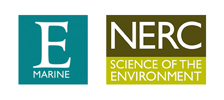 Logos - Exeter University Marine and the National Environment Research Council